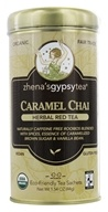 Zhena's Gypsy Tea - Herbal Red Tea Caramel Chai - 22 Tea Bags (652790101667)
