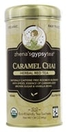 Zhena's Gypsy Tea - Herbal Red Tea Caramel Chai - 22 Tea Bags by Zhena's Gypsy Tea