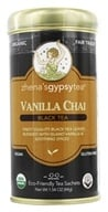Zhena's Gypsy Tea - Black Tea Vanilla Chai - 22 Tea Bags by Zhena's Gypsy Tea