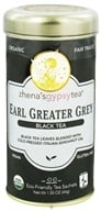Zhena's Gypsy Tea - Black Tea Earl Greater Grey - 22 Tea Bags - $5.86