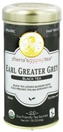 Zhena's Gypsy Tea - Black Tea Earl Greater Grey - 22 Tea Bags (652790100172)
