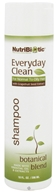 Nutribiotic - Everyday Clean Shampoo For Normal To Oily Hair Botanical Blend - 10 oz. by Nutribiotic