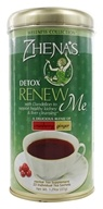 Zhena's Gypsy Tea - Wellness Collection Tea Renew Me Cranberry Ginger - 22 Tea Bags (652790102008)
