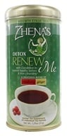 Zhena's Gypsy Tea - Wellness Collection Tea Renew Me Cranberry Ginger - 22 Tea Bags by Zhena's Gypsy Tea