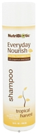 Nutribiotic - Everyday Nourish Shampoo For Dry, Damaged Hair Tropical Harvest - 10 oz. by Nutribiotic