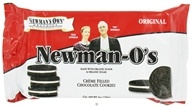 Image of Newman's Own Organics - Newman-O's Creme Filled Chocolate Cookies Original - 8 oz.