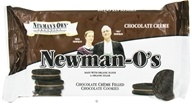 Newman's Own Organics - Newman-O's Creme Filled Chocolate Cookies Chocolate Creme - 8 oz. (757645021623)