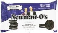 Newman's Own Organics - Newman-O's Creme Filled Chocolate Cookies Wheat Free Dairy Free - 8 oz.