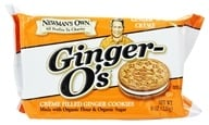 Newman's Own Organics - Ginger O's Creme Filled Ginger Cookies Ginger 'N Creme - 8 oz. (757645021661)