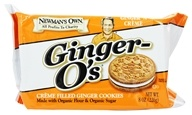 Image of Newman's Own Organics - Ginger O's Creme Filled Ginger Cookies Ginger 'N Creme - 8 oz.