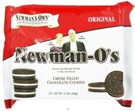 Newman's Own Organics - Newman's-O's Creme Filled Chocolate Cookies Original - 13 oz. (757645021401)