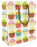 Earth Balance Bag - Tree Free Gift Bag Small Cupcakes - $1.99