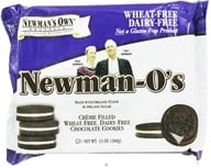 Newman's Own Organics - Newman's O's Creme Filled Chocolate Cookies Wheat Free Dairy Free - 13 oz. (757645021487)