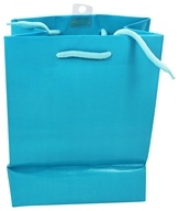 Earth Balance Bag - Tree Free Gift Bag Small Blue Cloth - $1.99