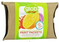 Glob - Paint Packets Natural Colors with Organic Extracts - 6 x .2 oz(5g) Packets by Glob