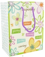 Earth Balance Bag - Tree Free Gift Bag Small Inspire - $1.99
