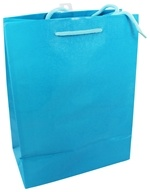 Earth Balance Bag - Tree Free Gift Bag Large Blue Cloth - $2.29