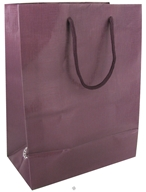 Image of Earth Balance Bag - Tree Free Gift Bag Large Purple Linen