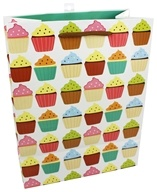 Earth Balance Bag - Tree Free Gift Bag Large Cupcakes