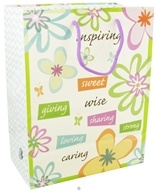 Earth Balance Bag - Tree Free Gift Bag Large Inspire - $2.29