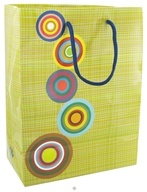 Earth Balance Bag - Tree Free Gift Bag Large Retro - $2.29