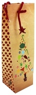 Earth Balance Bag - Tree Free Wine Bag Festive Tree, from category: Housewares & Cleaning Aids