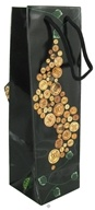 Earth Balance Bag - Tree Free Wine Bag Vintage - $1.79