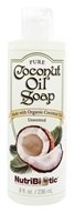 Image of Nutribiotic - Pure Coconut Oil Soap Unscented - 8 oz.