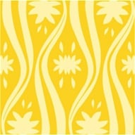 "Earth Balance Bag - Tree Free Gift Wrap Mellow Yellow - 12.5 sq. ft (30"" x 5 "") (897295002594)"