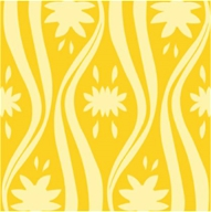"Earth Balance Bag - Tree Free Gift Wrap Mellow Yellow - 12.5 sq. ft (30"" x 5 "")"