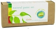 Glob - Natural Paint Set Box of Four Botanical Colors - 4 x .5 oz Bottles