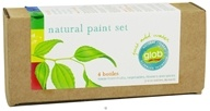 Glob - Natural Paint Set Box of Four Botanical Colors - 4 x .5 oz Bottles - $24