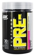 Optimum Nutrition - Platinum Pre-Workout Energy & Focus Raspberry Lemonade - 240 Grams - $29.59