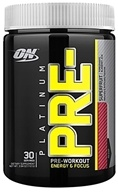 Optimum Nutrition - Platinum Pre-Workout Energy & Focus Superfruit - 240 Grams