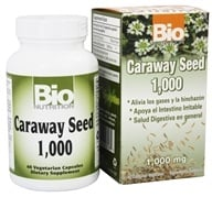 Bio Nutrition - Caraway Seed 1000 mg. - 60 Vegetarian Capsules by Bio Nutrition