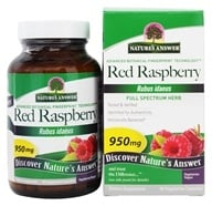Nature's Answer - Red Raspberry Leaf 950 mg. - 90 Vegetarian Capsules, from category: Herbs