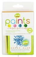 Glob - Paint Packets Natural Colors with Bamboo Brush - 4  x .2(5g) Packets
