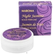 Maroma - Solid Perfume Night Jasmine - 8 Grams, from category: Aromatherapy