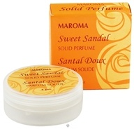 Maroma - Solid Perfume Sweet Sandal - 8 Grams, from category: Aromatherapy