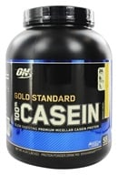 Image of Optimum Nutrition - 100% Casein Gold Standard Banana Cream - 4 lbs.