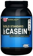 Optimum Nutrition - 100% Casein Gold Standard Raspberry Smoothie - 2 lbs.