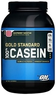 Optimum Nutrition - 100% Casein Gold Standard Raspberry Smoothie - 2 lbs. (748927024531)