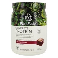 Image of PlantFusion - Nature's Most Complete Plant Protein Chocolate Raspberry - 1 lb.