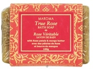 Maroma - Bath Soap True Rose - 100 Grams by Maroma