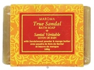 Maroma - Bath Soap True Sandal - 100 Grams CLEARANCE PRICED (623206361043)