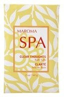 Maroma - Spa Bath Salts Clear Thoughts - 2 oz. by Maroma