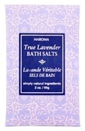 Maroma - Bath Salts True Lavender - 2 oz. by Maroma