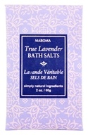 Maroma - Bath Salts True Lavender - 2 oz., from category: Personal Care
