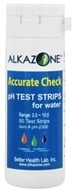 Alkazone - Accurate Check pH Test Strips for Water - 50 Strip(s) by Alkazone