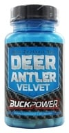 Buckpower - 100% New Zealand Red Deer Antler Velvet 250 mg. - 60 Capsules by Buckpower